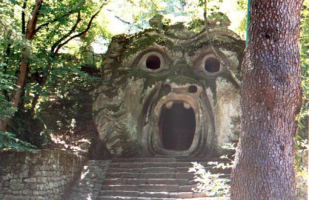 Le parc des monstres de Bomarzo