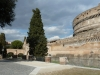 Le Passetto, couloir reliant le Vatican au château Saint Ange à Rome