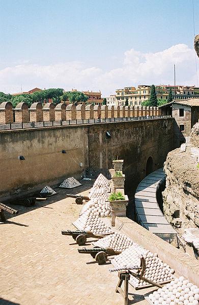 Château Saint Ange à Rome