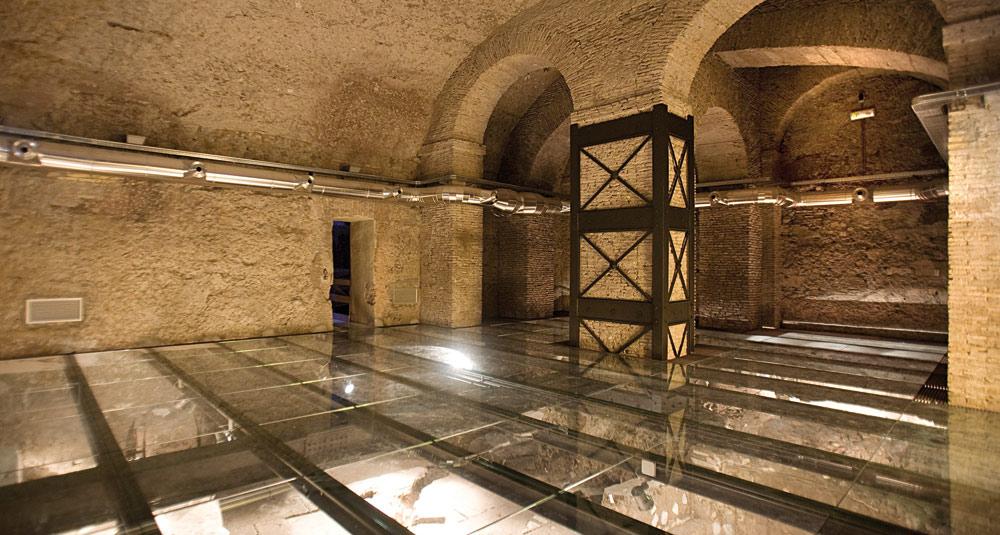 Domus Romane du palazzo Valentini