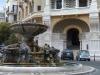 Piazza Mincio et la fontaine des grenouilles