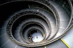 escalier des musées du Vatican, dit de Bramante