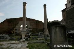 basilique Aemilia dans le forum romain