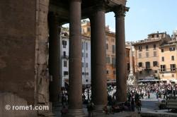 portique du Panthéon de Rome