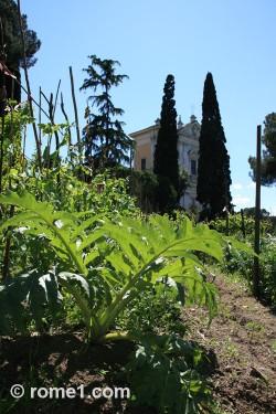 Jardin potager de San Gregorio Magno