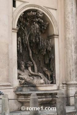 4 fontaines à Rome