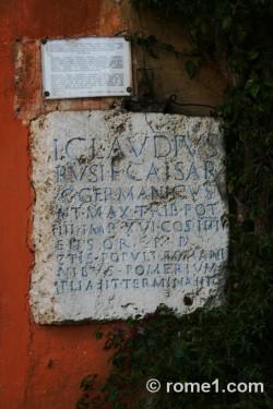 Borne frontière romaine