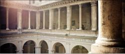 Cloître de Bramante à Rome
