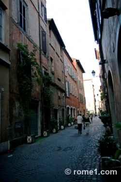 Via dei coronari à Rome