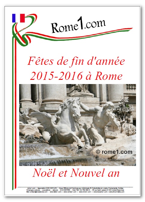 Noël à Rome Nouvel An à Rome