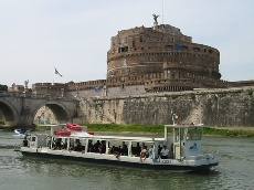 Rome en bateau