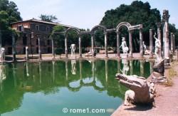 villa Hadrien à Tivoli