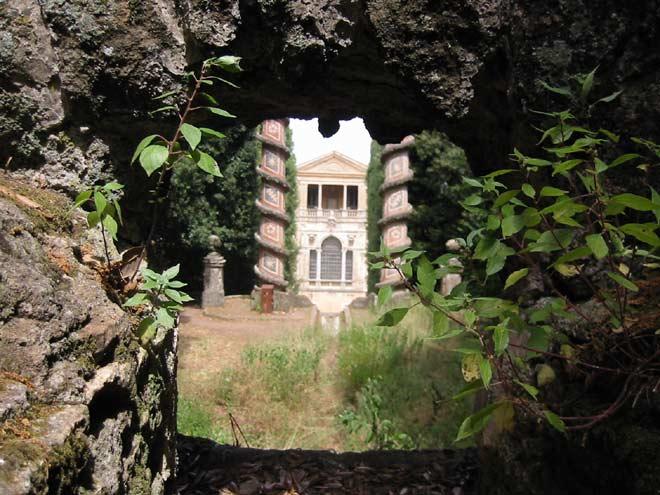 Parc de la Villa Aldobrandini à Frascati