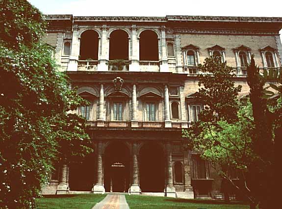 Palais Farnese à Rome