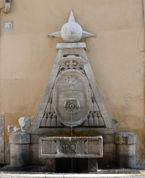 Fontaine della Cancelleria