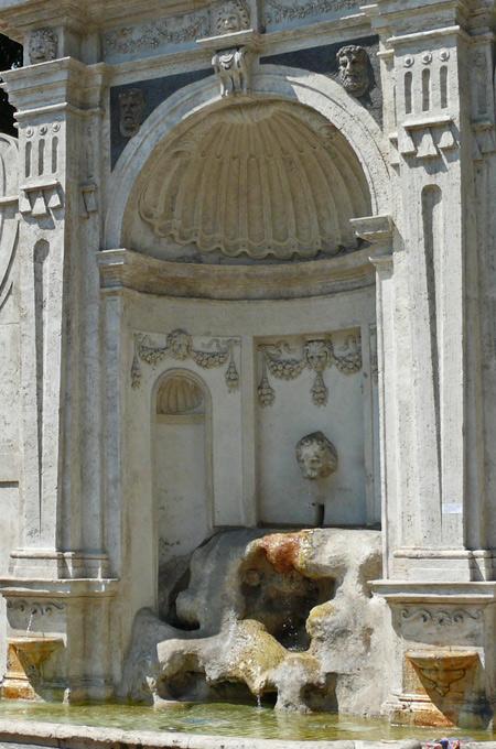Fontaine del Prigione à Rome