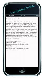 Rome sur smartphone