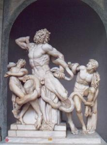 laocoon et ses fils aux musées du Vatican