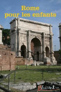 Guide de Rome pour les enfants