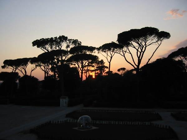 Les parcs et Jardins de Rome