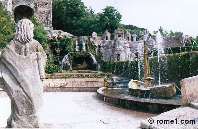 petite Rome de la villa d'Este