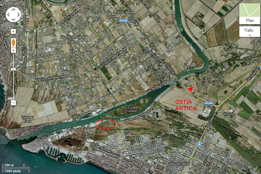 Découverte du premier port d'Ostie antique