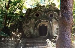 Le jardin des monstres de bomarzo