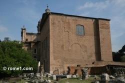 curie du forum romain