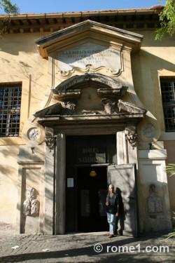 san-clemente Saint Clément à Rome