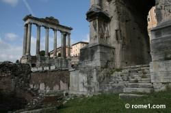 arc de septime sévère à Rome