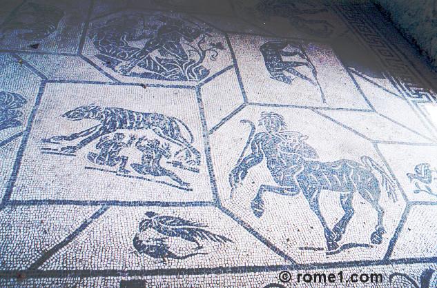 Les mosaïques d'Ostie