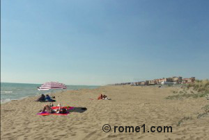 plages libres à Rome