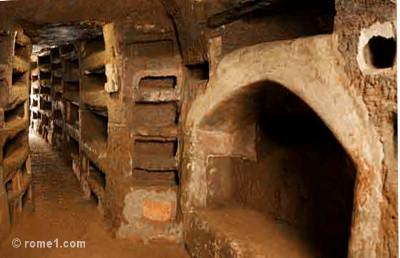 Catacombes à Rome