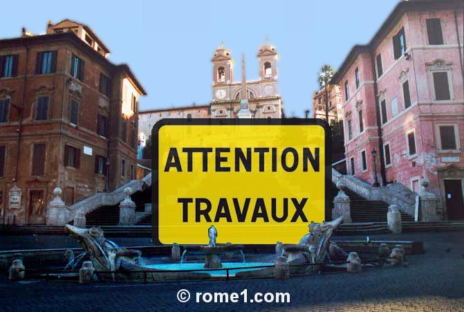 Travaux à Rome