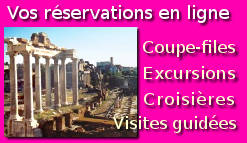 Coupe-files Rome pass visites