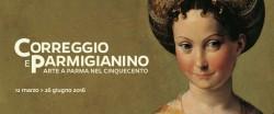 Exposition COrrège et Parmesan à Rome
