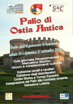 Palio de l' equinoxe d' automne à Ostia
