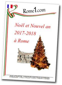 Noël 2017 et Nouvel an 2018 à Rome