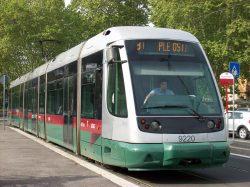 tram de rome tram romain