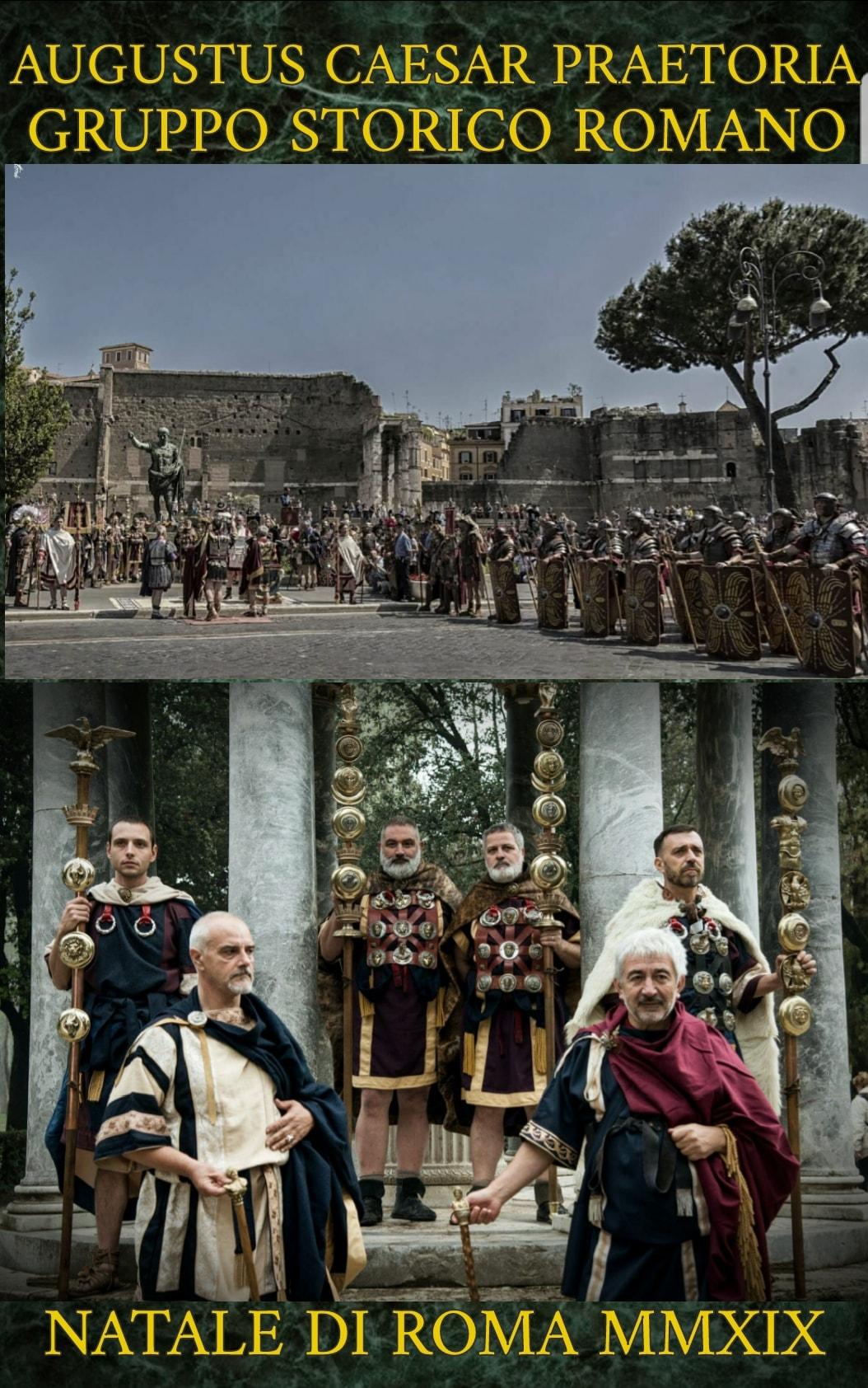 Programme de natale di Roma 2019