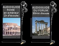 Audioguides Rome pas chers
