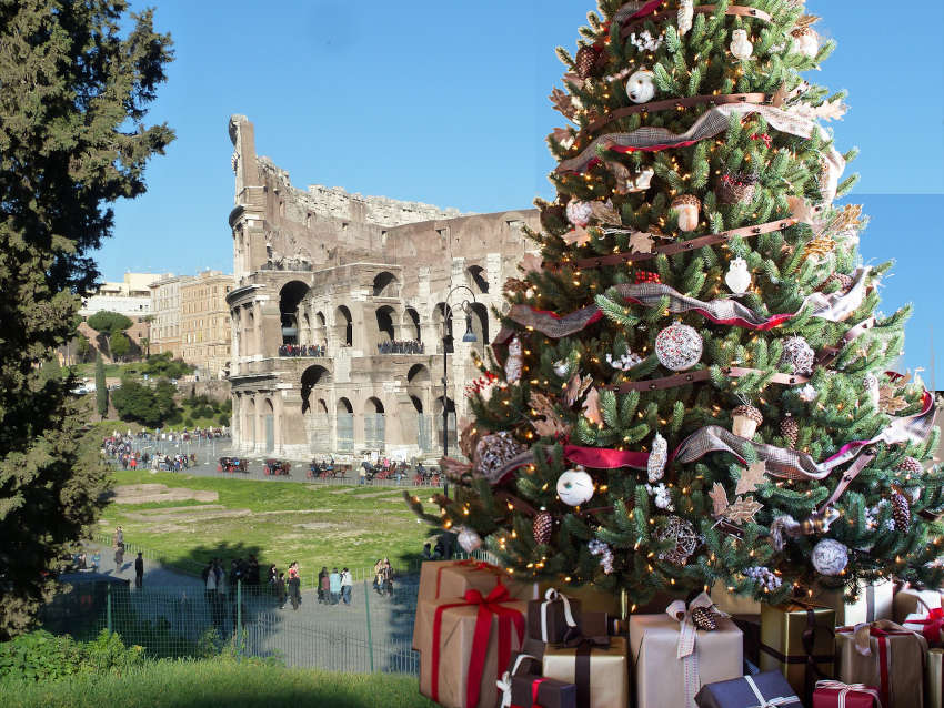 Noël et Nouvel an à Rome