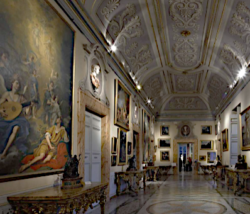 galerie Corsini et les expositions de l'été 2020 à Rome