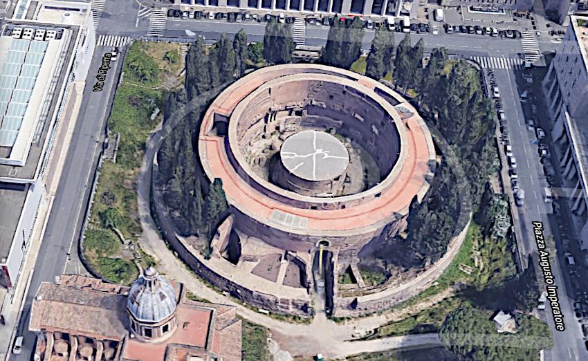 Mausolée d'Auguste à Rome