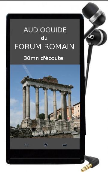 audioguide en fran�ais du Forum romain
